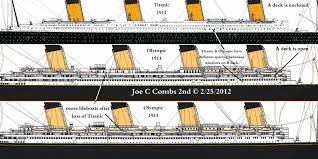 these were the major differences between the rms titanic and her