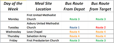Columbus Route Map by Columbus Transit U2013 City Of Columbus Indiana