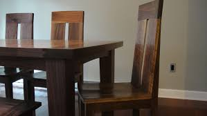 Marvellous Solid Walnut Dining Table And Chairs  For Chairs For - Walnut dining room chairs