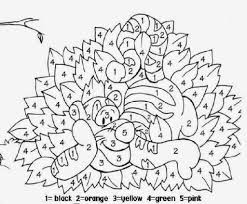 awesome and also interesting coloring pages by number regarding