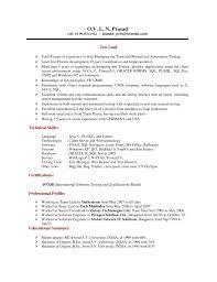 Teradata Sample Resume by Sample Resume For New Graduate Job Resume Samples Server Resumes