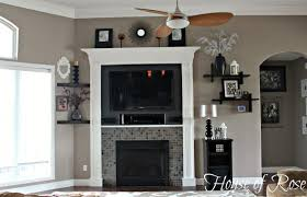 hide that tv ideas for a diy accent wall that includes a tv