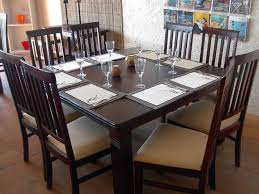Square Dining Room Tables For 8 Square Dining Room Table For 8 Inspiring With Image Of Square