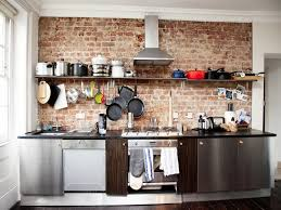 accent wall ideas for kitchen brick design ideas kitchen with brick accent wall kitchen brick