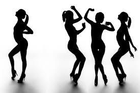 imagenes en movimiento bailando bailando siluetas movimiento obras sala arte decoración madera marco