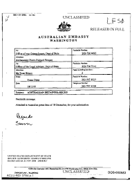 Fax Cover Sheet Samples by Fax Cover Sheet From The Australian Embassy Washington To