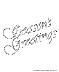 christmas scenes coloring pages seasons poster