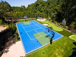versacourt home u0026 backyard basketball court photos