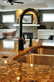 Bronze Faucets For Kitchen by 170 Best Kitchen Remodel With Cherry Cabinets Images On Pinterest