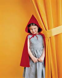 Red Riding Hood Costume Little Red Riding Hood Costume Martha Stewart