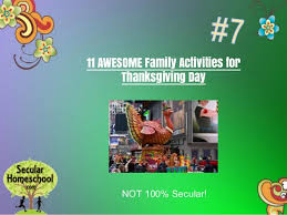 10 thanksgiving educational ideas for secular homeschoolers