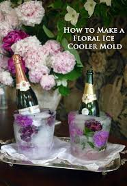 diy fl ice bucket cooler for wine champagne and spirits