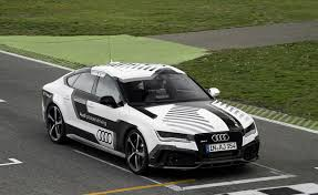 audi a7 self driving the self driving audi rs7 take on hockenheim autoguide com