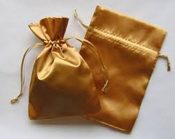 gold favor bags gold favor bags etsy