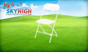 chair rentals houston white folding chair rentals houston tx sky high party rentals