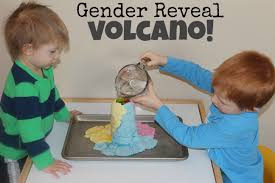 gender reveal announcements gender reveal volcano teaching