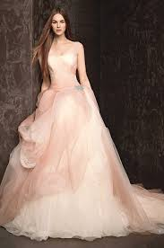 wolf of wall wedding dress colorful ombre 9 beautiful blush wedding dresses