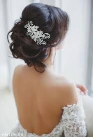 chignon mariage coiffure mariage cheveux mi chignon coiffures