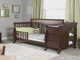 Black Convertible Cribs Black Baby Cribs With Changing Table Attached Baby Bed Black