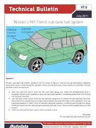 sub tank fuel system switch electronics