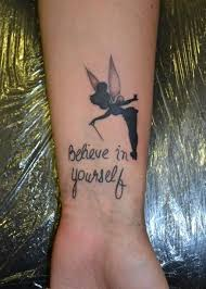 small tinkerbell tattoo design quotes quotesgram by quotesgram