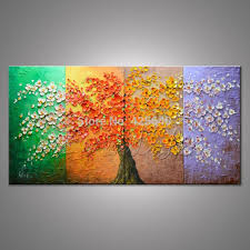 Painting For Living Room by Amazoncom Wall Decorations For Living Room Tree Paintings For
