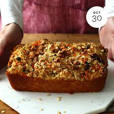 oatober u2014 oatmeal carrot cake bread ingredients 1 cups