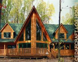 logcabin homes northern white cedar log house cedar homes ohio log cabins