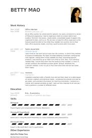 Bilingual In Resume Office Worker Resume Samples Visualcv Resume Samples Database