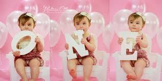 baby girl birthday 1st birthday cake smash island baby photographer
