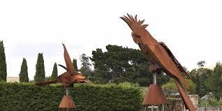 kooper tasmania australia birdbaths garden sculptures gates