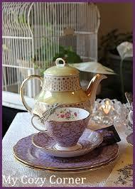 little tea table set my cozy corner little yellow tea pot