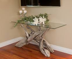 Cottage Sofa Table Woodland Creek Furniture Vogue Other Metro Tropical Living Room