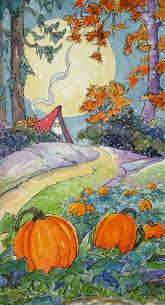 Garden Art For Sale 1151 Best Storybook Cottage Series By Alida Akers Images On