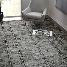Modern Wool Rugs Sale Erased Lines Wool Rug 9 X12 Iron Rugs And Carpets Pinterest