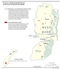 West Bank Map Maps Of Palestine