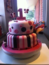pink and brown birthday cake cakecentral com