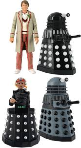doctor who action figure collectors set resurrection of the