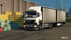 mercedes truck 2016 mercedes axor truck addons update 1 21 euro truck simulator 2 mods
