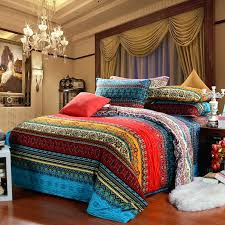 egyptian cotton luxury boho bedding sets king queen size bohemian