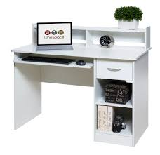 Registry Row Desk Comfort Products Essential Computer Desk Hutch Pull Out Keyboard