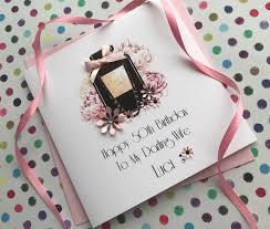handmade birthday cards personalised birthday cards pink u0026 posh