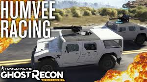 lamborghini humvee racing humvee u0027s and bloody llamas tom clancy u0027s ghost recon