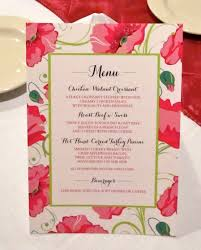 Bridal Shower Ideas by Bridal Shower Menu Card Modhousewife U0027s Event Planning