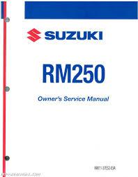28 1999 suzuki rm250 service manual 111751 1999 suzuki