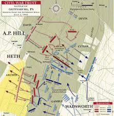 Battle Of Gettysburg Map Battle Map Gettysburg Country Club Tract Civil War Trust U2026 Flickr