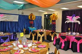 people decorating for a party interior design