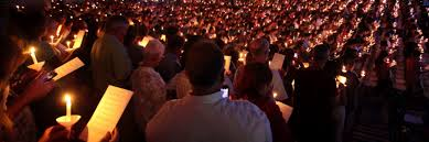 autumn term ceremony of lights eckerd college