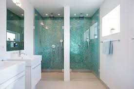 Glass Tiles Bathroom Best 25 Glass Tile Shower Ideas On Pinterest Glass Tile With