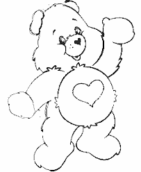 care bears coloring pages care bear coloring pages